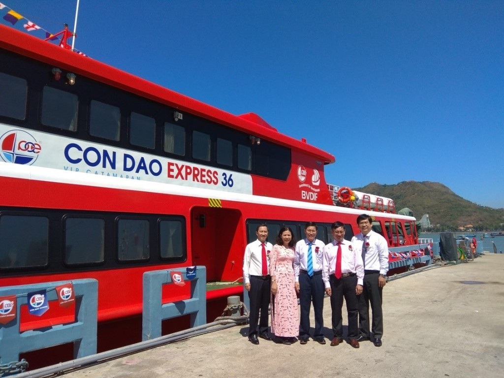 BVDIF finances the biggest and fastest passenger catamaran in Vietnam