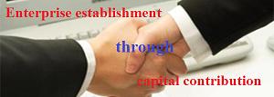 Capital Contribution For Enterprise Establishment