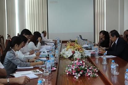 Lãnh đạo UBND tỉnh tiếp và làm việc với Nhà đầu tư về Du lịch sinh thái Quốc tế tại Côn Đảo