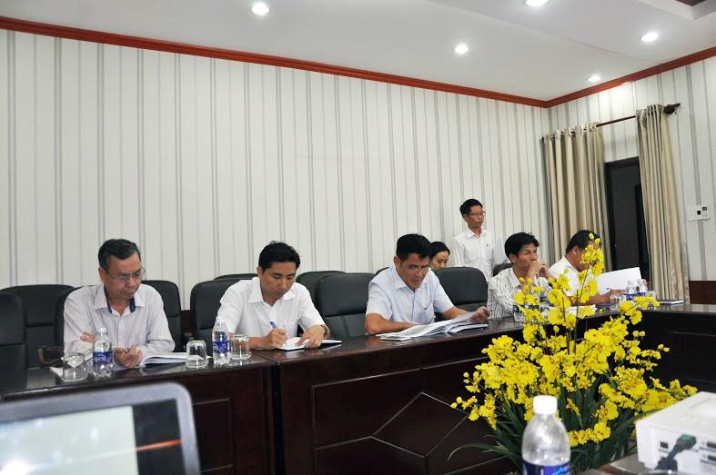 BVDIF làm việc với UBND huyện Tân Thành về việc đề xuất các dự án đầu tư trên địa bàn huyện