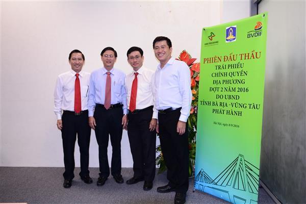 Bà Rịa – Vũng Tàu phát hành 500 tỷ đồng trái phiếu chính quyền địa phương