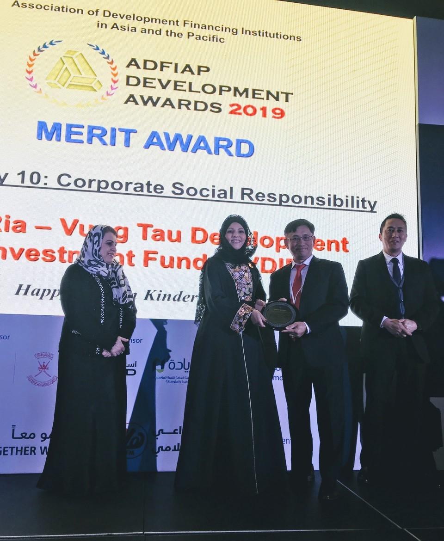 Dự án Trường Mầm non Happy Garden của Quỹ được nhận Giải thưởng của Hiệp hội ADFIAP