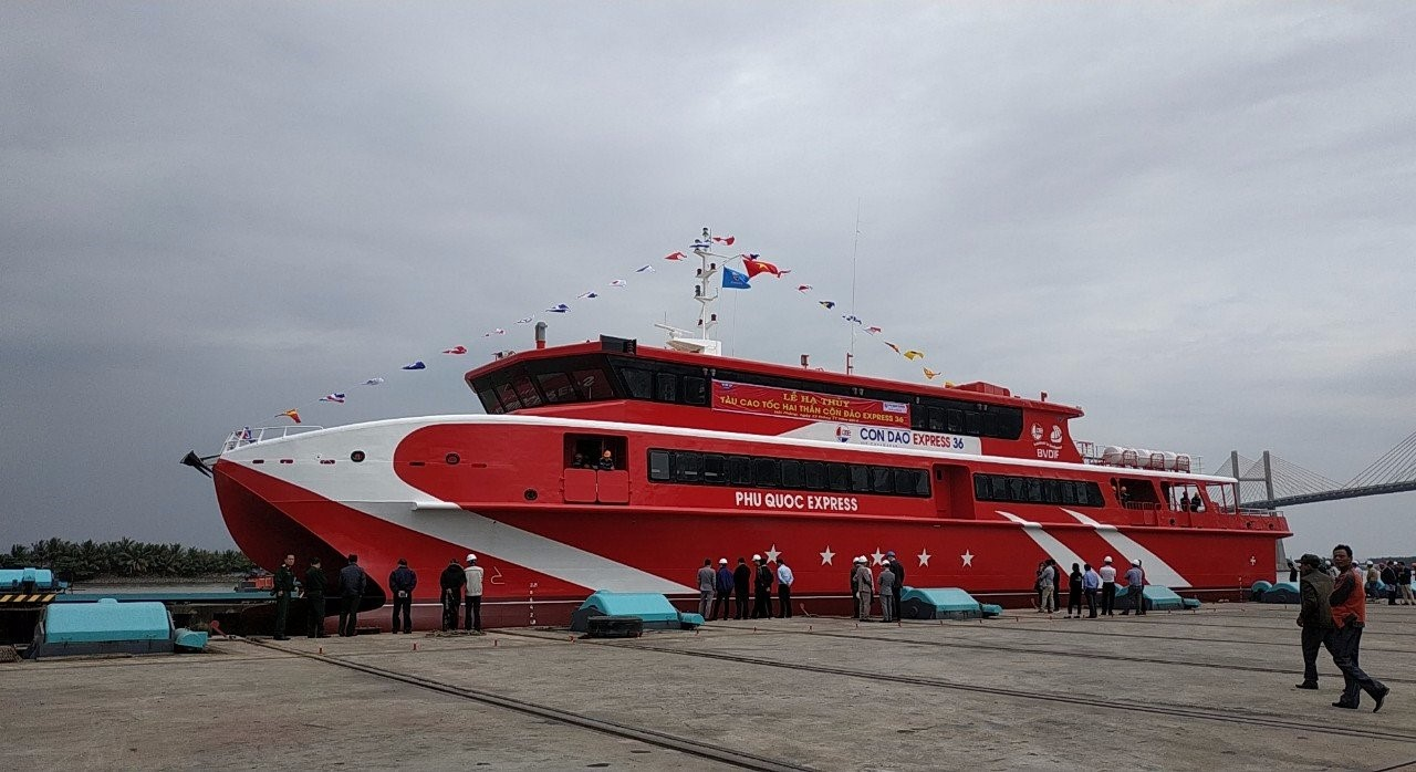 Quỹ Đầu tư phát triển BR-VT tài trợ vốn cho Dự án Tàu Cao tốc hai thân tuyến Vũng Tàu – Côn Đảo của Công ty Cổ phần Tàu Cao tốc Phú Quốc.