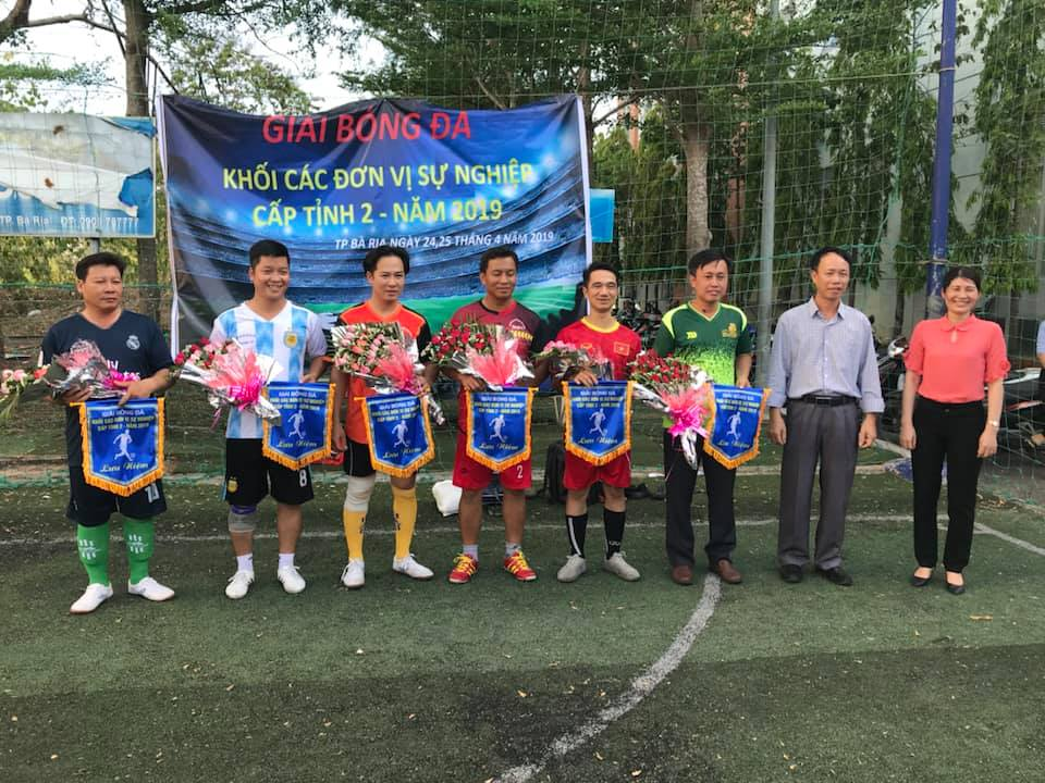 Quỹ Đầu tư phát triển BR-VT tham gia Giải bóng đá Khối các đơn vị sự nghiệp cấp tỉnh 2 – năm 2019