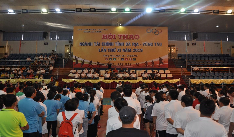 Quỹ Đầu tư phát triển BR-VT tham gia Hội thao ngành Tài chính tỉnh Bà Rịa – Vũng Tàu lần thứ XI năm 2019