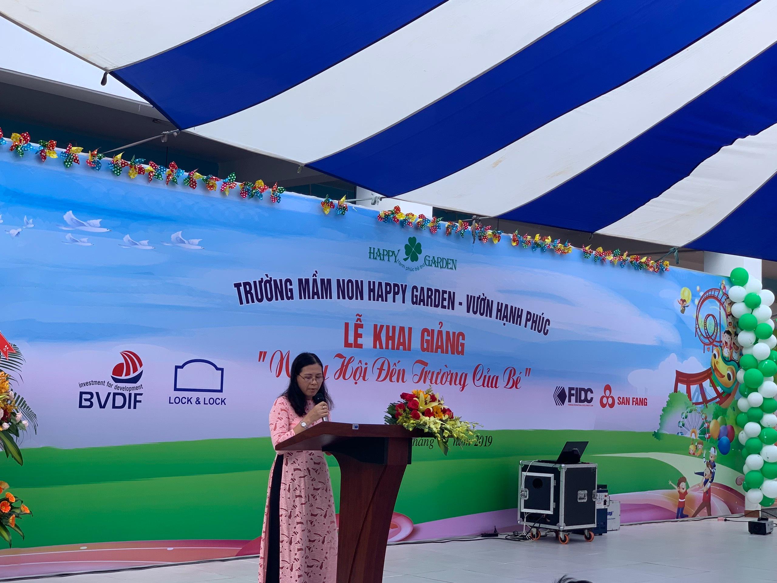 Trường Mầm non Happy Garden tổ chức Lễ Khai giảng đầu tiên năm học 2019 – 2020