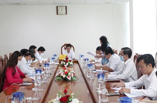 Họp hội đồng quản lý Quỹ Đầu tư phát triển tỉnh BR-VT 06 tháng đầu năm 2020